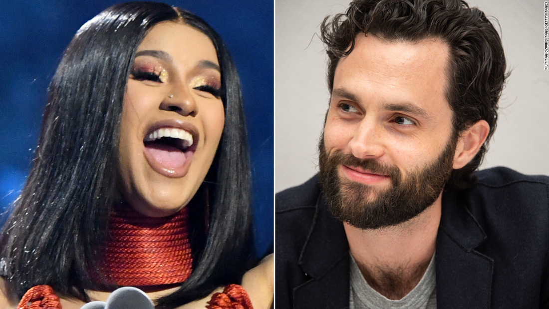 Cardi B and Penn Badgley are the Twitter friendship we didn't know we needed