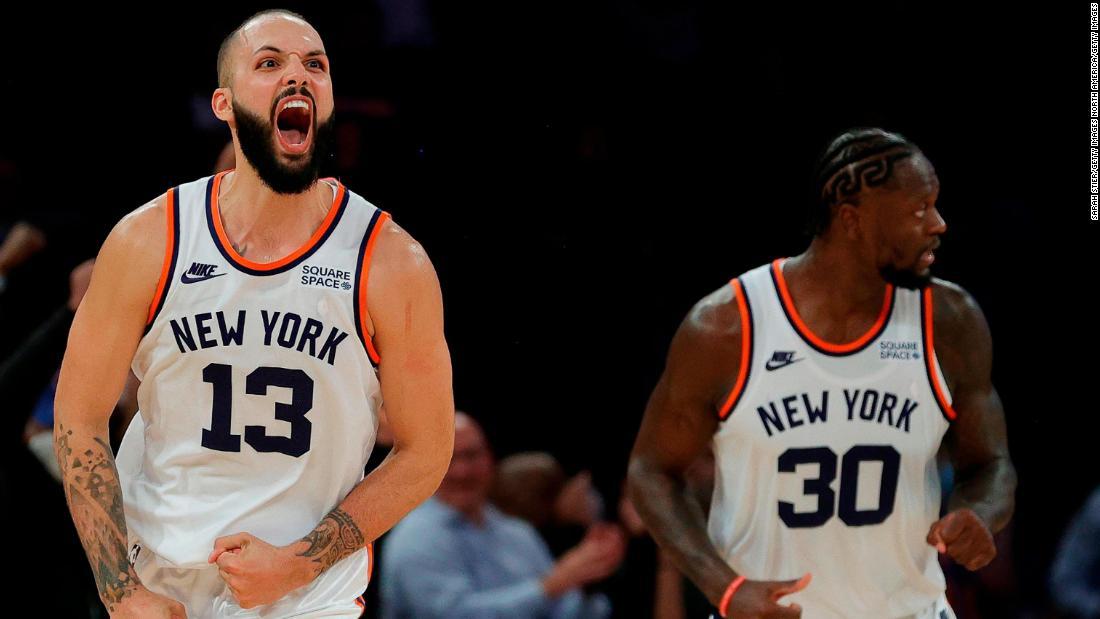 New York Knicks defeat Boston Celtics in double overtime despite Jaylen Brown's 46 points