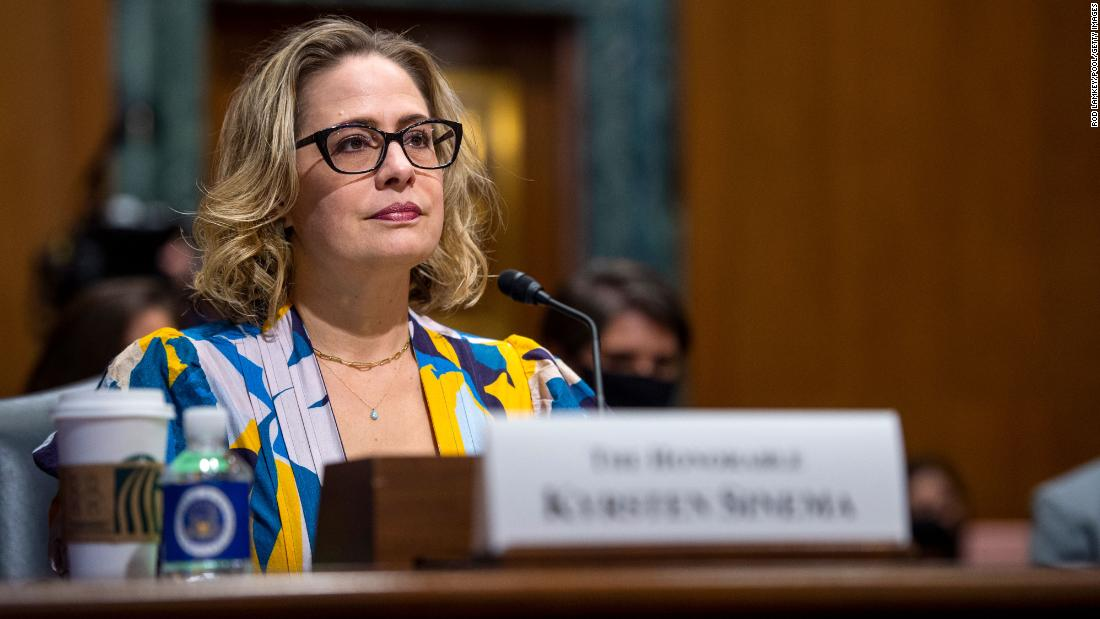 Liberal backlash against Sinema grows on Capitol Hill