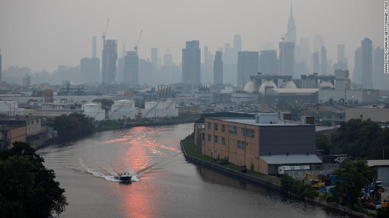 Wildfire smoke contributes to more deaths in the Eastern US than the West, study shows