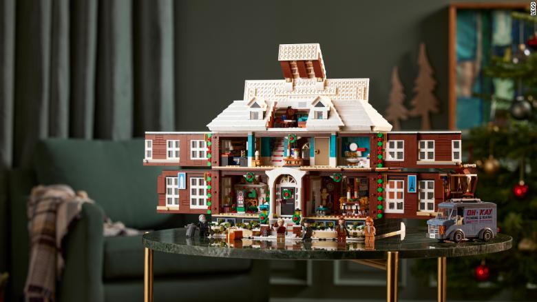 Lego recreates the house from 'Home Alone'