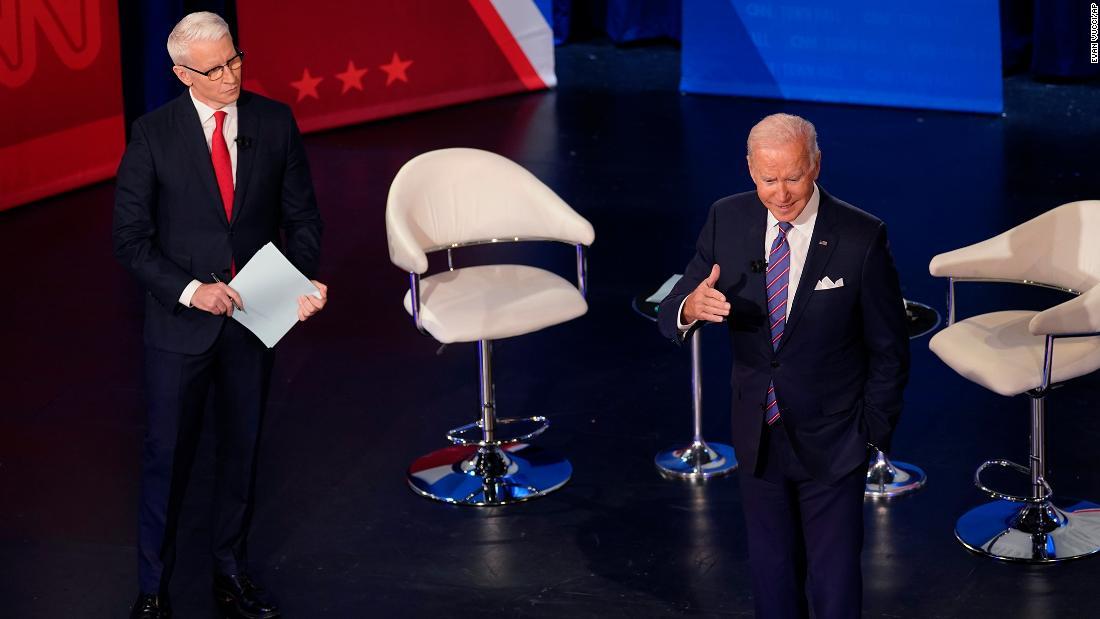 Biden pulls back the curtain on his talks with Joe Manchin and Kyrsten Sinema