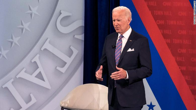 Biden says he's open to altering filibuster on voting rights and debt limit