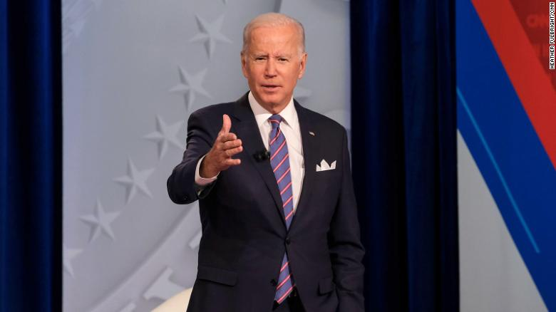 Biden says many Americans are feeling 'down' because of pandemic and urges people to seek help if they need it