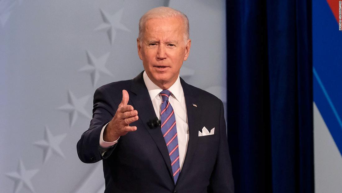 Analysis: Biden returns to retail politics to rescue his biggest deal yet