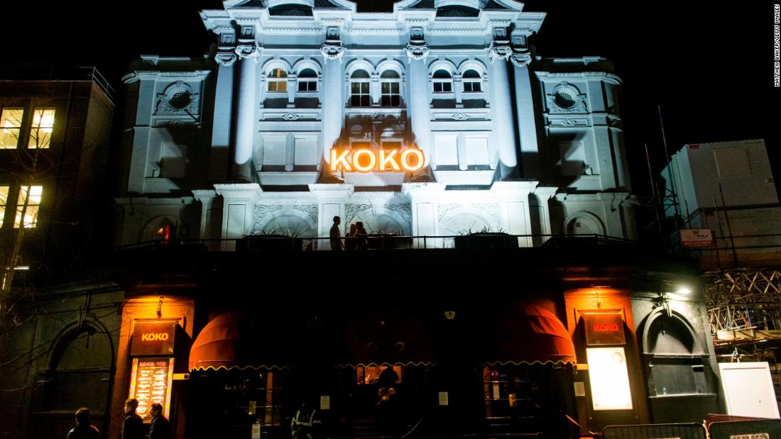 Famous London music venue Koko, where Prince and Madonna have performed, to reopen after fire