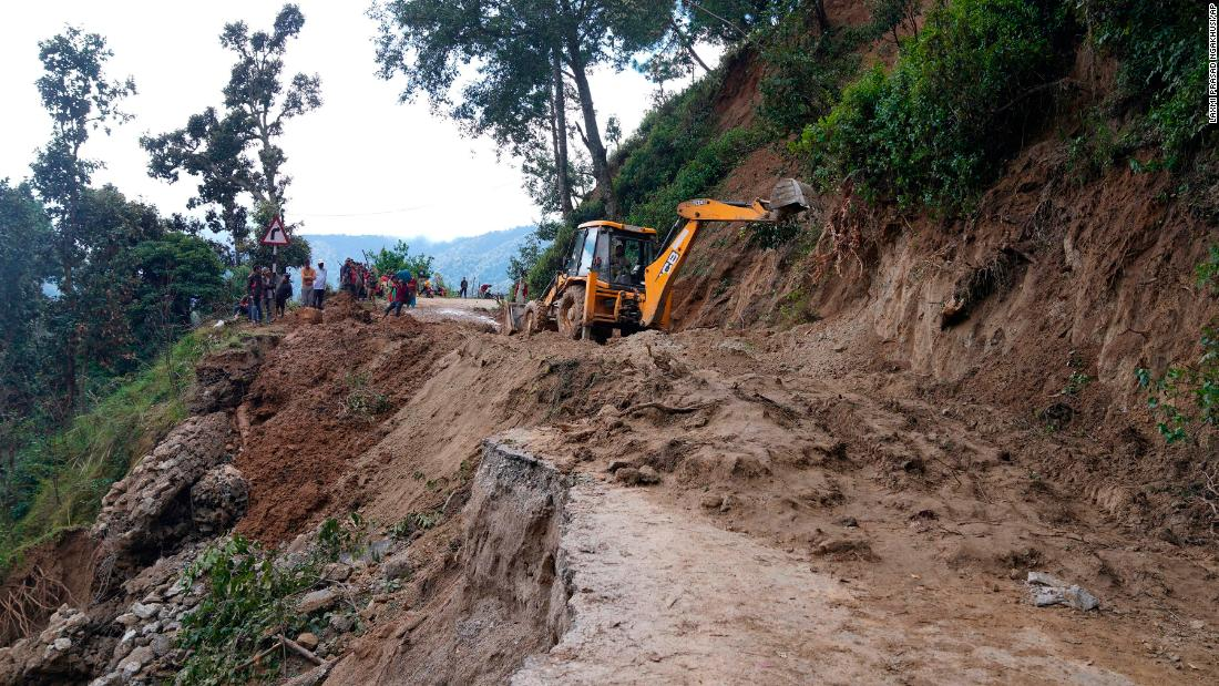 More than 200 deaths reported in India and Nepal following heavy rainfall and flooding