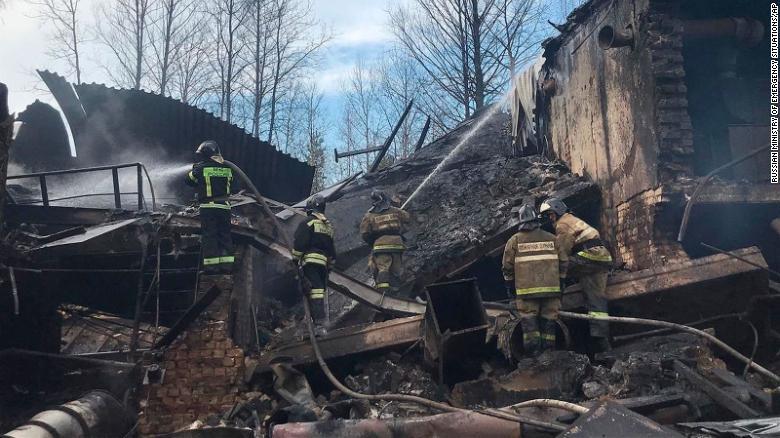 Explosion at Russian gunpowder workshop kills 17 — report
