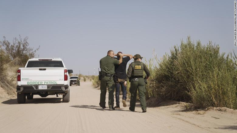 US recorded more than 1.6 million southern border arrests last year, highest on record