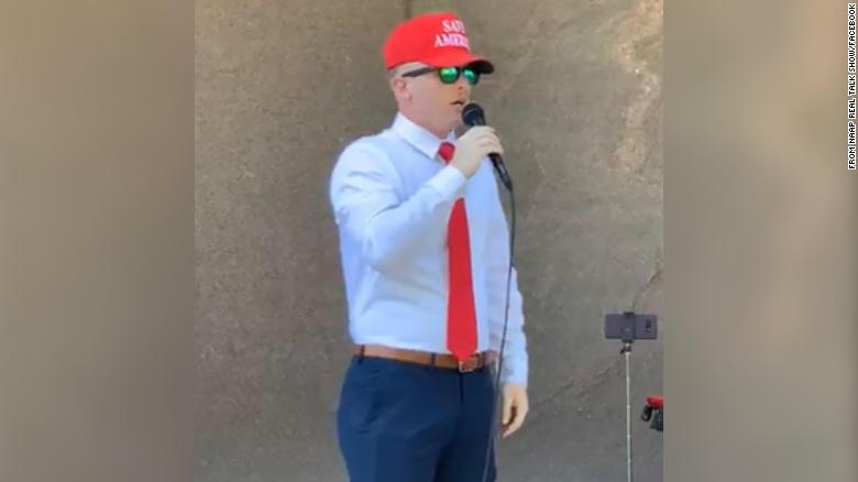 January 6 defendant spoke at far-right rally attended by Proud Boys, despite court order against associating with the group