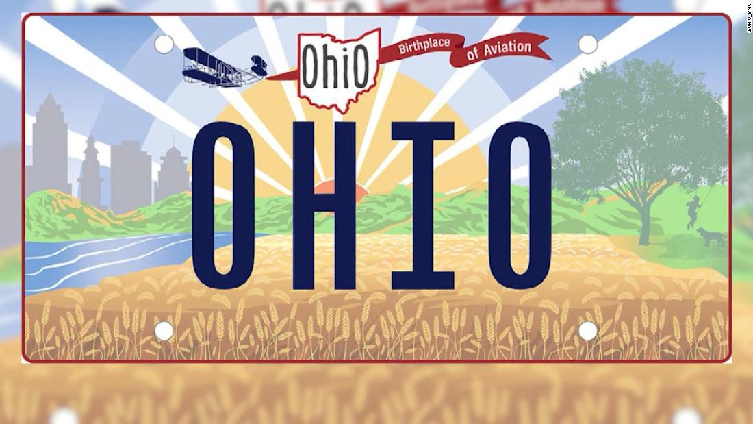 Whoops! Ohio messes up new license plate