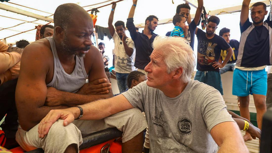 Actor Richard Gere summoned to testify in Sicily migrant case
