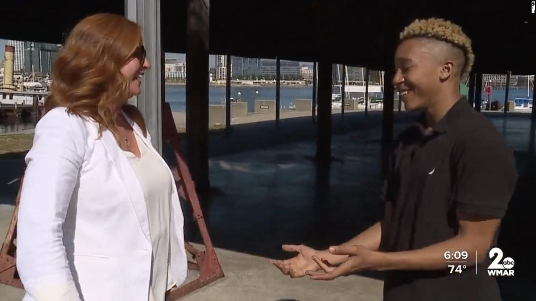 Skateboarder goes viral for heartwarming interaction with stranger