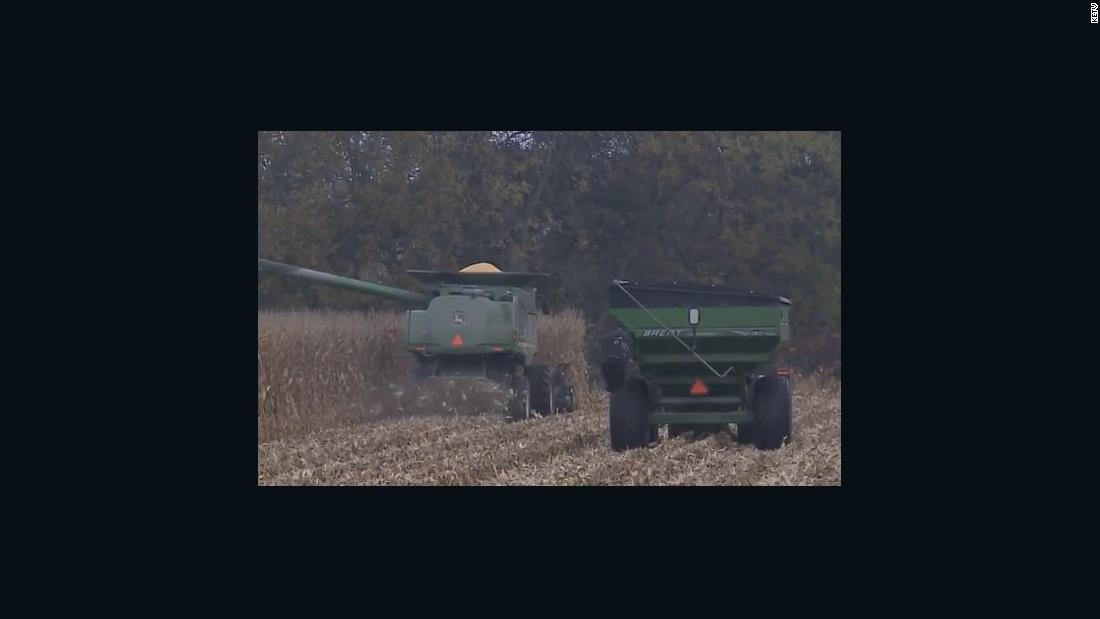 Farming community harvests crop of late farmer who died mid-September