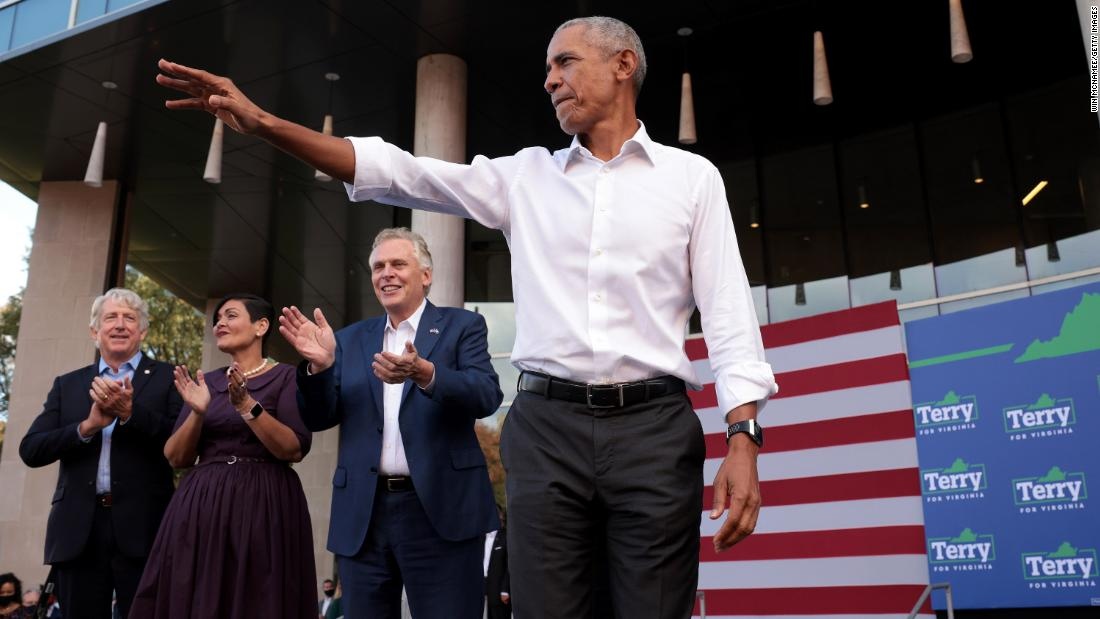 Obama implores Virginia Democrats to wake up ahead of governor's race