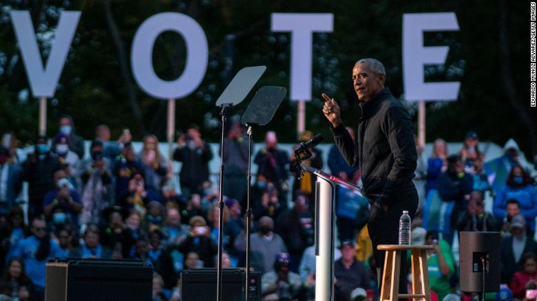Obama says New Jersey Republican gubernatorial candidate won't be a 'champion of democracy'