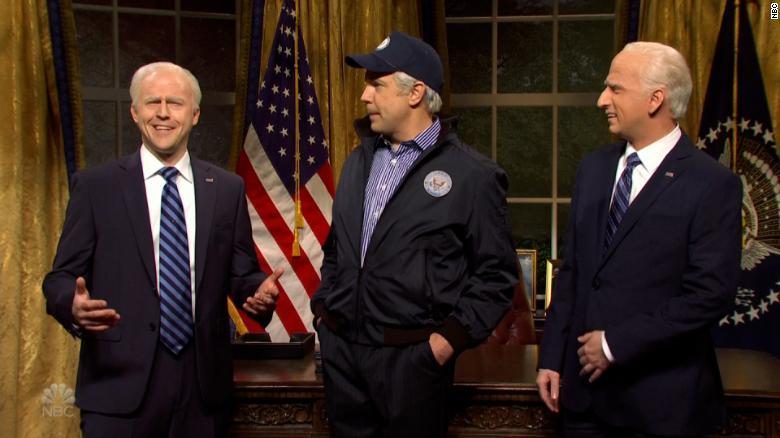 'SNL' brings back Jason Sudeikis' Joe Biden to help out the President