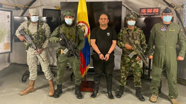Colombia captures its 'most-feared' drug lord Dairo Antonio Usuga
