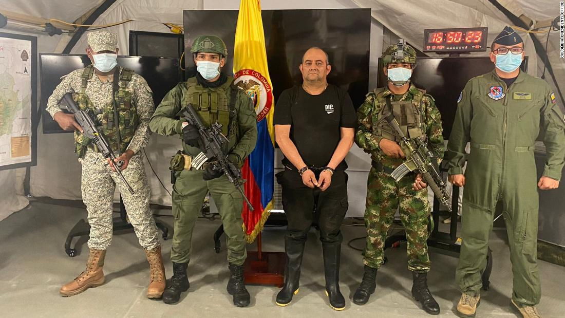'Otoniel': Colombia captures its most-wanted drug lord