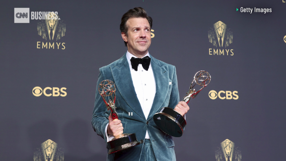 Image for Jason Sudekis pokes fun at 'Ted Lasso' success in 'SNL' monologue