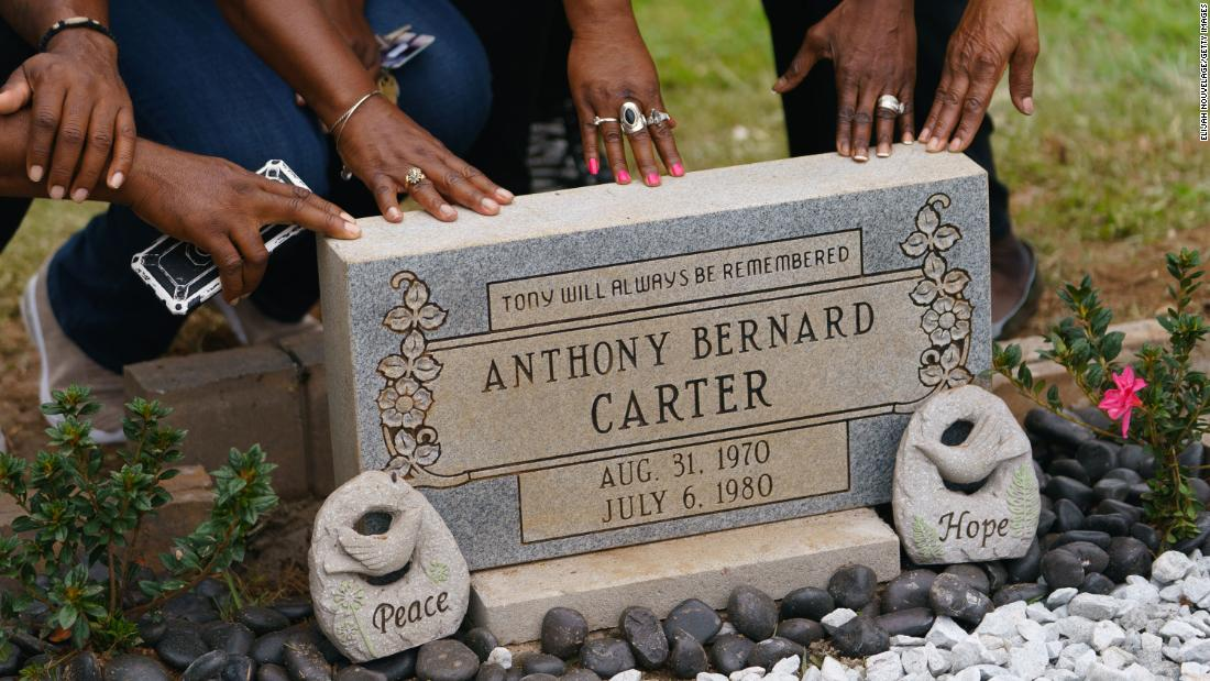 Atlanta Child Murders victim receives headstone more than 40 years after his death