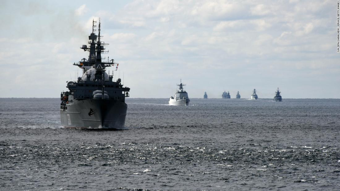 Why Russian and Chinese warships teaming up to circle Japan is a big deal