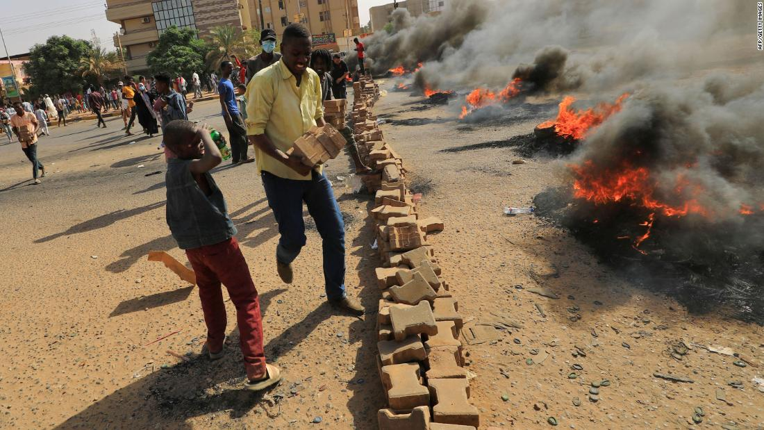 The military has taken over in Sudan. Here's what happened