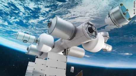 Jeff Bezos Blue Origin quiere construir una estación espacial turística casi tan grande como la ISS