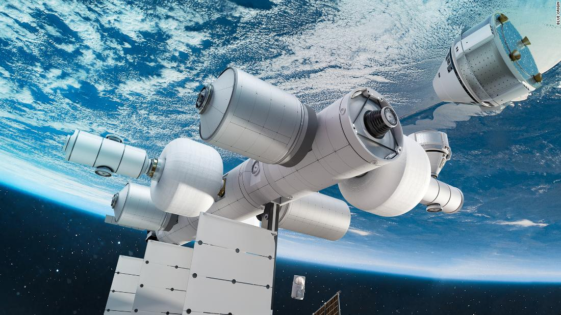 Jeff Bezos' Blue Origin wants to build a tourism space station nearly as big as the ISS