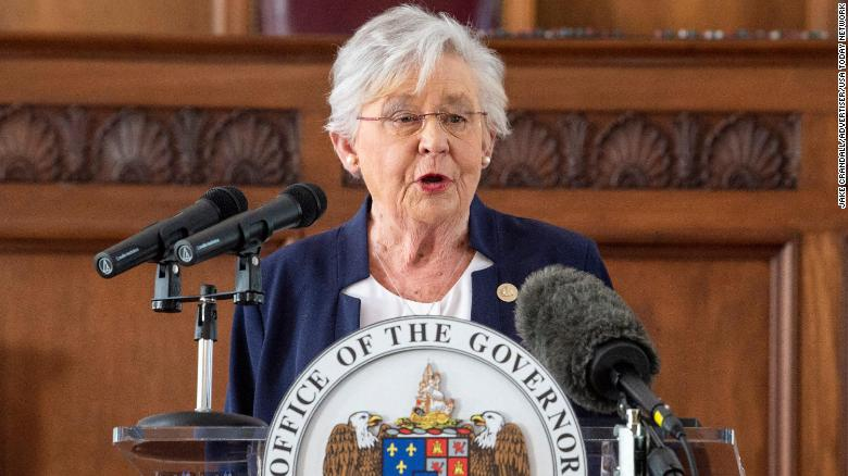 Alabama governor instructs state agencies to fight federal Covid-19 vaccine mandates