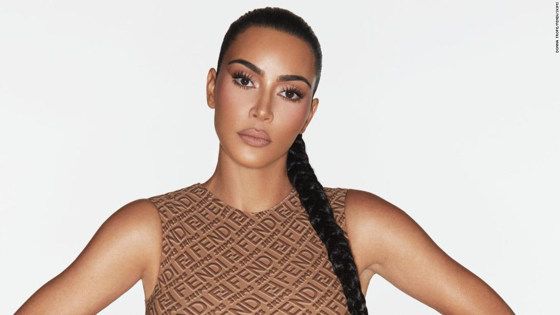 Kim Kardashian West unveils latest collaboration