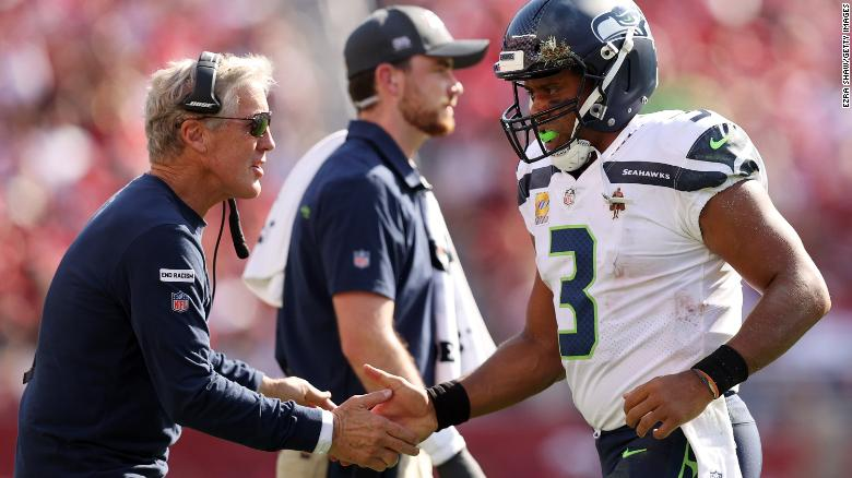 Seattle Seahawks coach Pete Carroll admits he 'probably wouldn't have' been at helm for so long without Russell Wilson