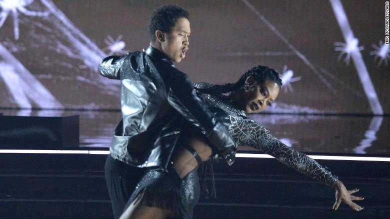 'Dancing With the Stars' features horror-themed show and one couple was scary good