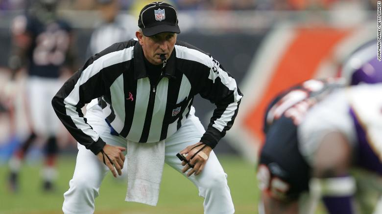 Veteran NFL official Carl Madsen dies on way home from Chiefs-Titans game