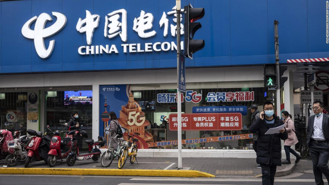 US government bans China Telecom from operating in the country