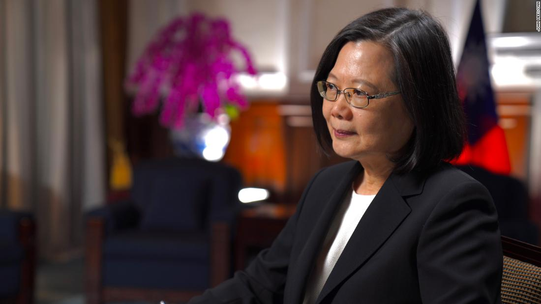 Tsai Ing-wen confirms US troops are training military on island and says threat from China increasing 'every day'