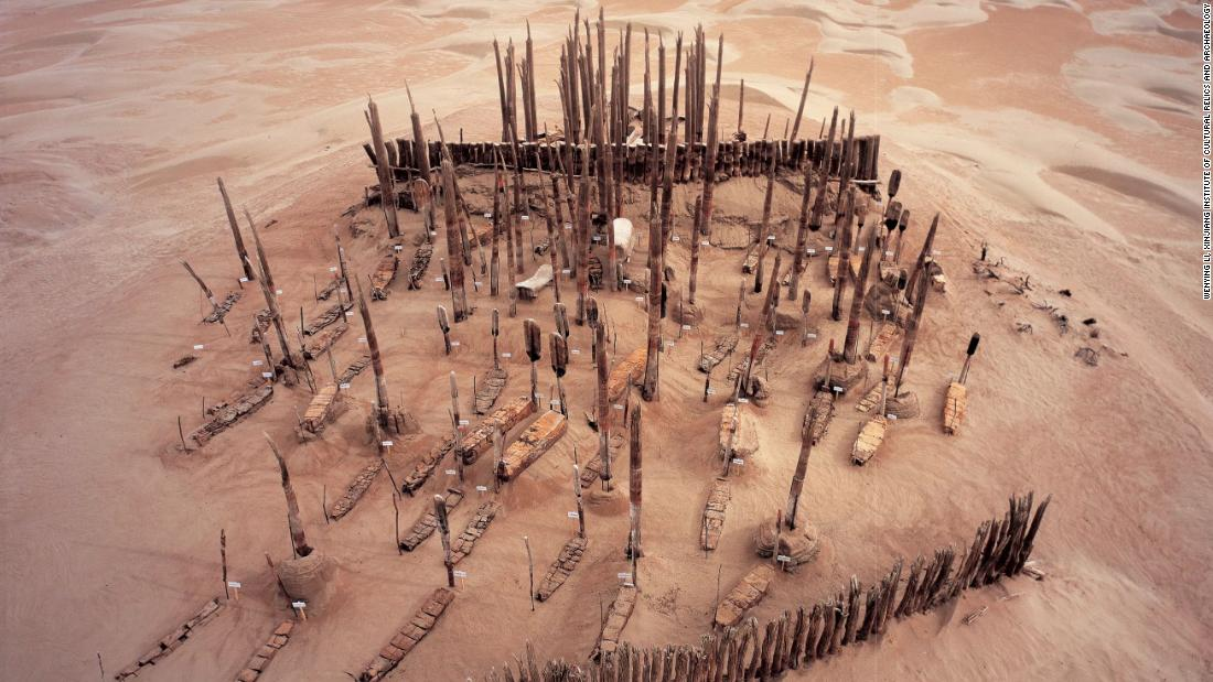 DNA reveals unexpected origins of mummies buried in Chinese desert