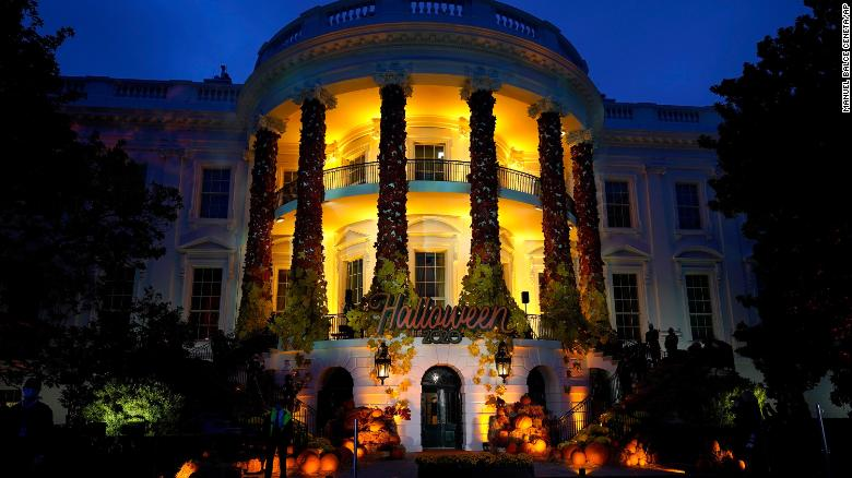 There won't be a White House Halloween celebration this year