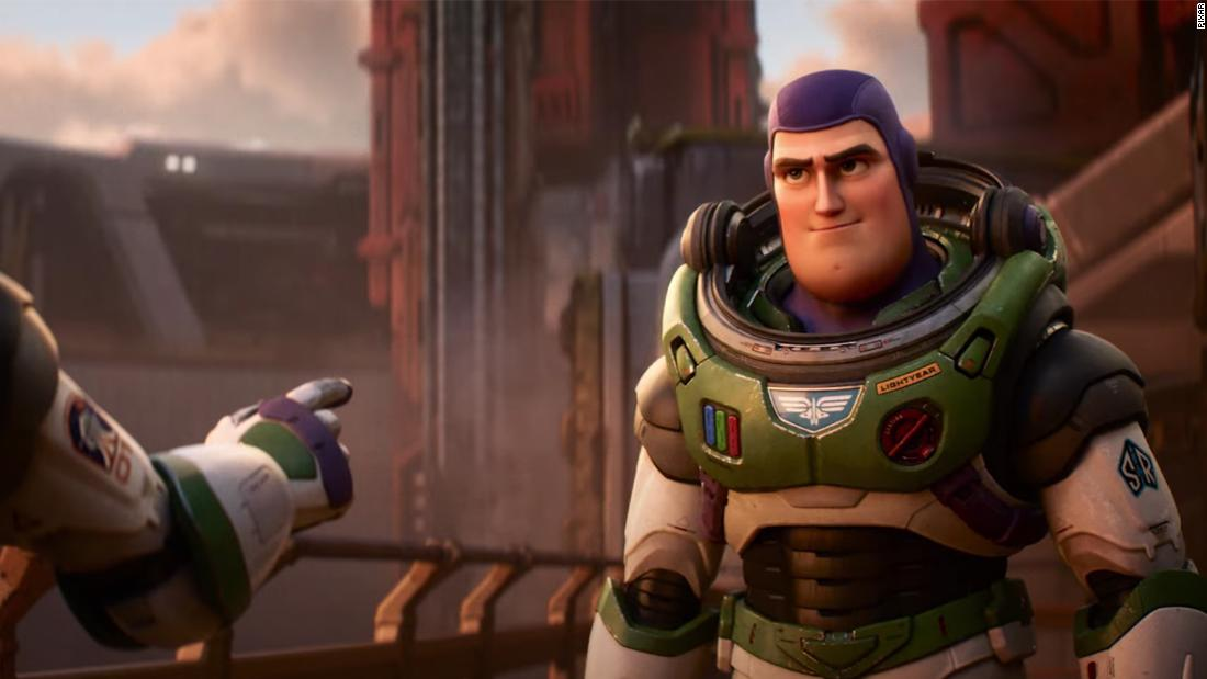 Buzz Lightyear's origin story is teased in a new trailer from Pixar