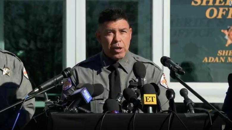 Santa Fe County Sherrif says Baldwin fired 'suspected live round' on 'Rust' set