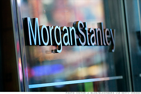 The ACLU sued Morgan Stanley Monday, charging it engaged in racial discrimination by funding subprime mortgages.