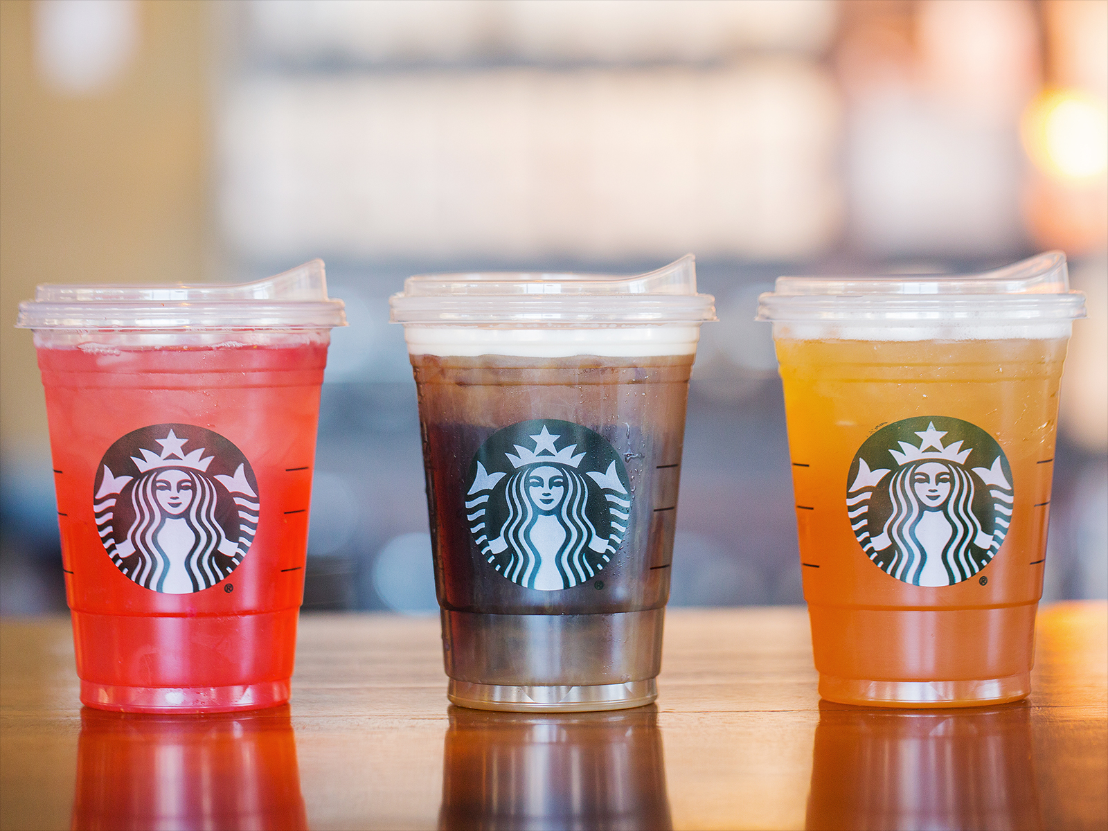Starbucks will start rolling out strawless lids for all drinks in the fall.